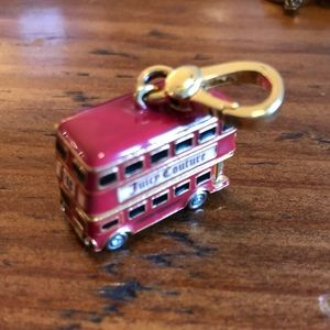 Juicy Couture Double Decker Bus Charm